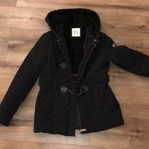 Blanc Noir Black Winter Coat size M